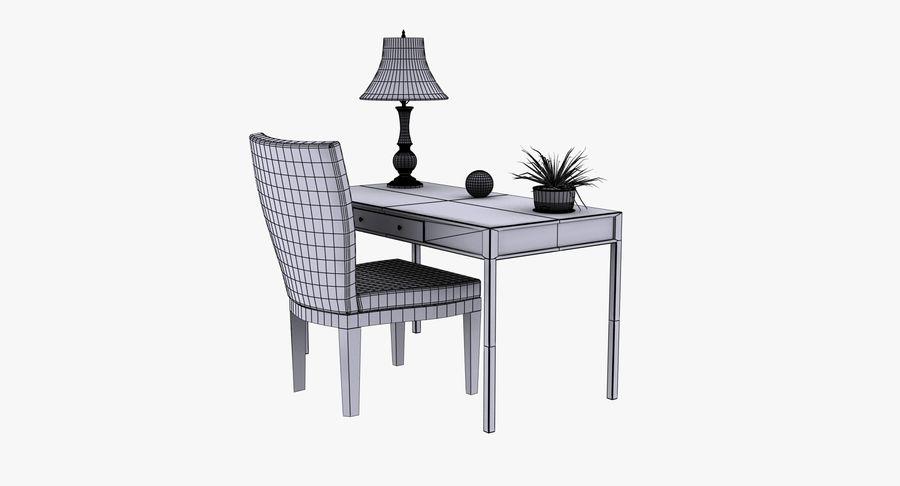 Desk Set royalty-free 3d model - Preview no. 12
