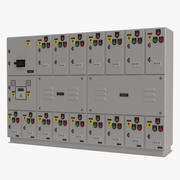 Industrial Electrical Panel 3d model