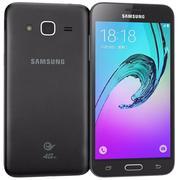 三星Galaxy J3黑色 3d model