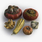 Photorealistic Pumpkins 3d model