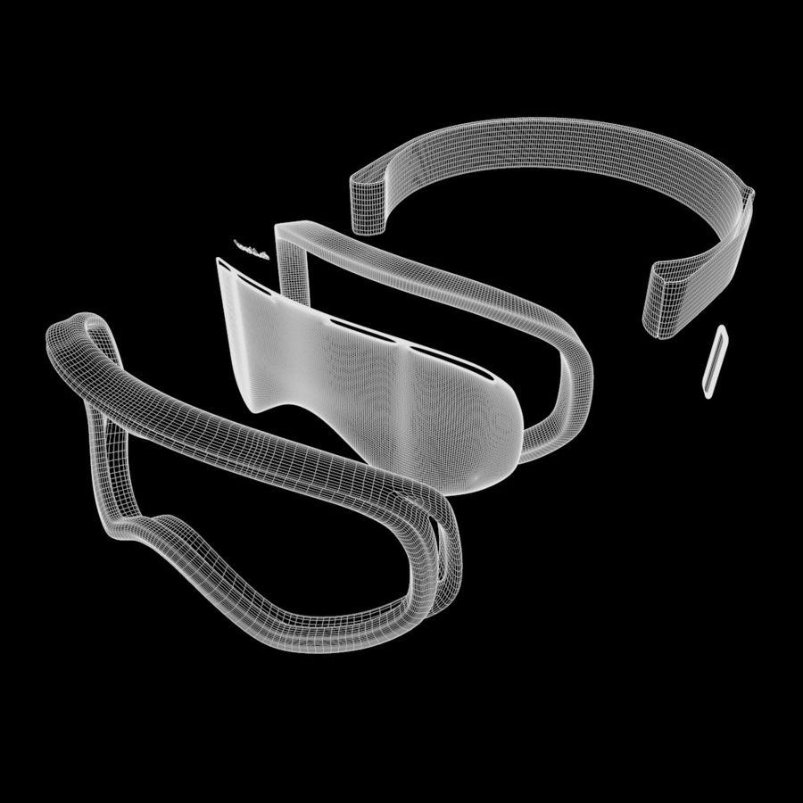 Ski Mask royalty-free 3d model - Preview no. 13