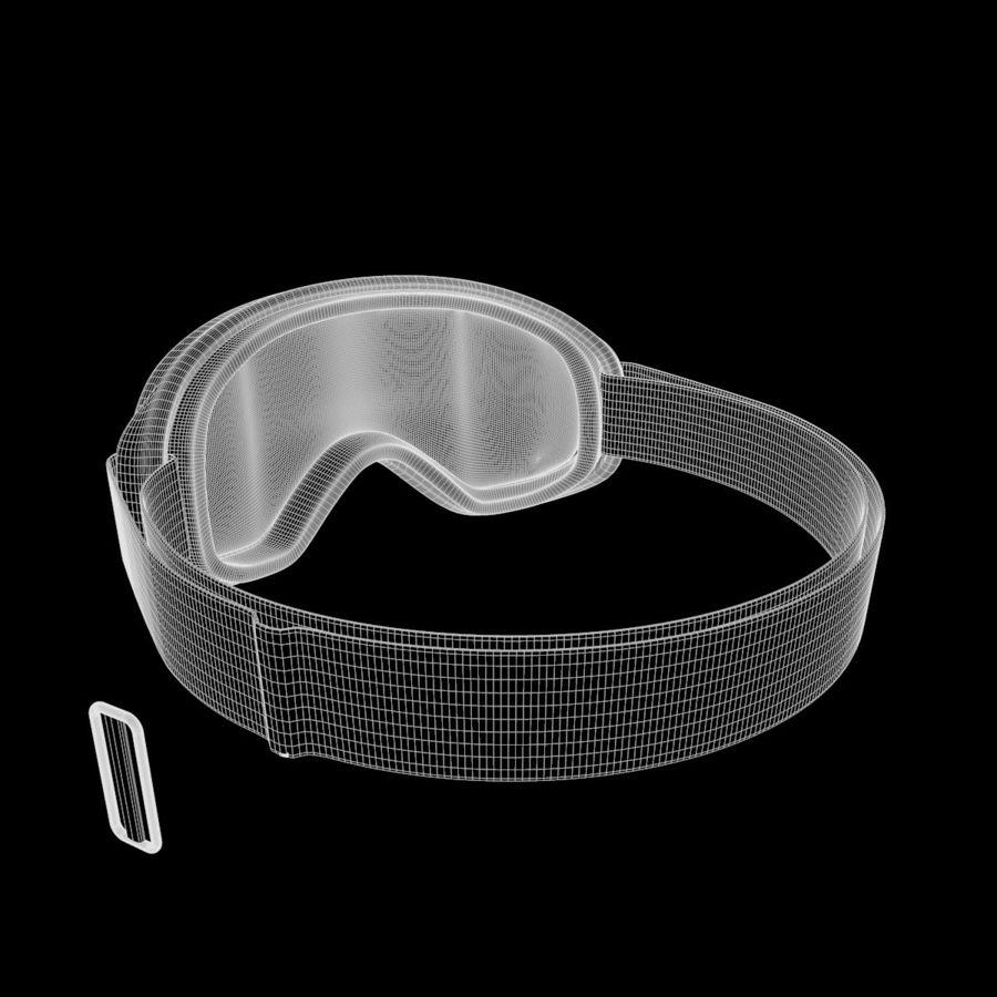 Ski Mask royalty-free 3d model - Preview no. 12
