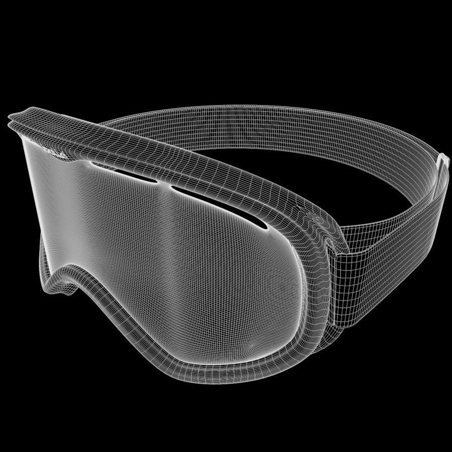 Ski Mask royalty-free 3d model - Preview no. 11