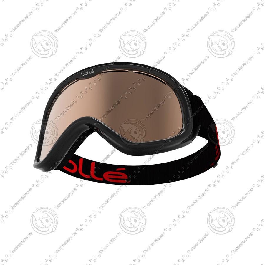 Ski Mask royalty-free 3d model - Preview no. 3