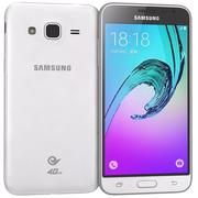 Samsung Galaxy J3 White 3d model