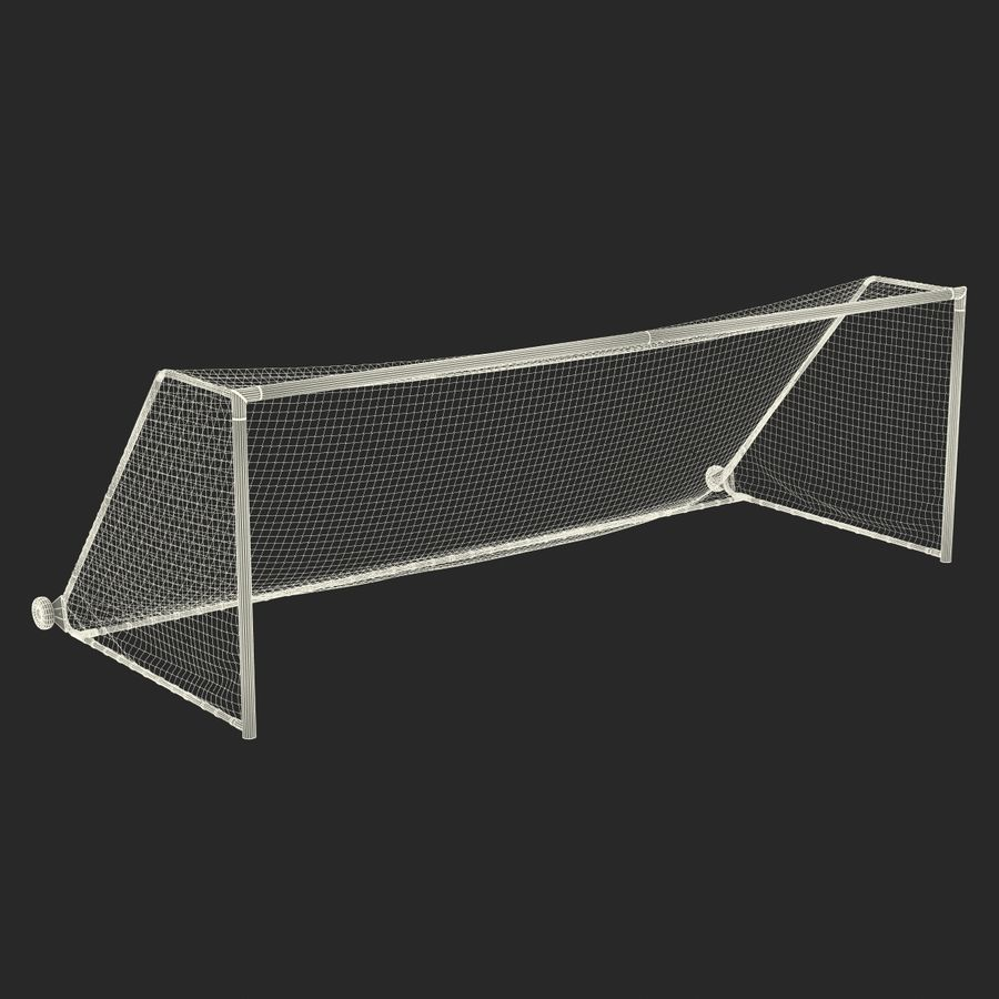 Soccer Goal royalty-free 3d model - Preview no. 23