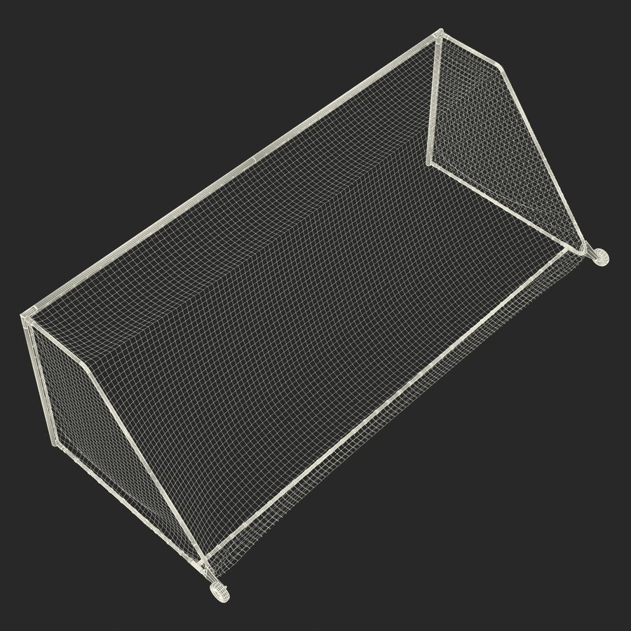 Soccer Goal royalty-free 3d model - Preview no. 25