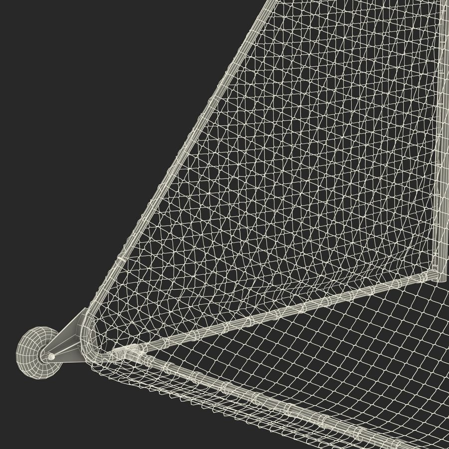 Soccer Goal royalty-free 3d model - Preview no. 32
