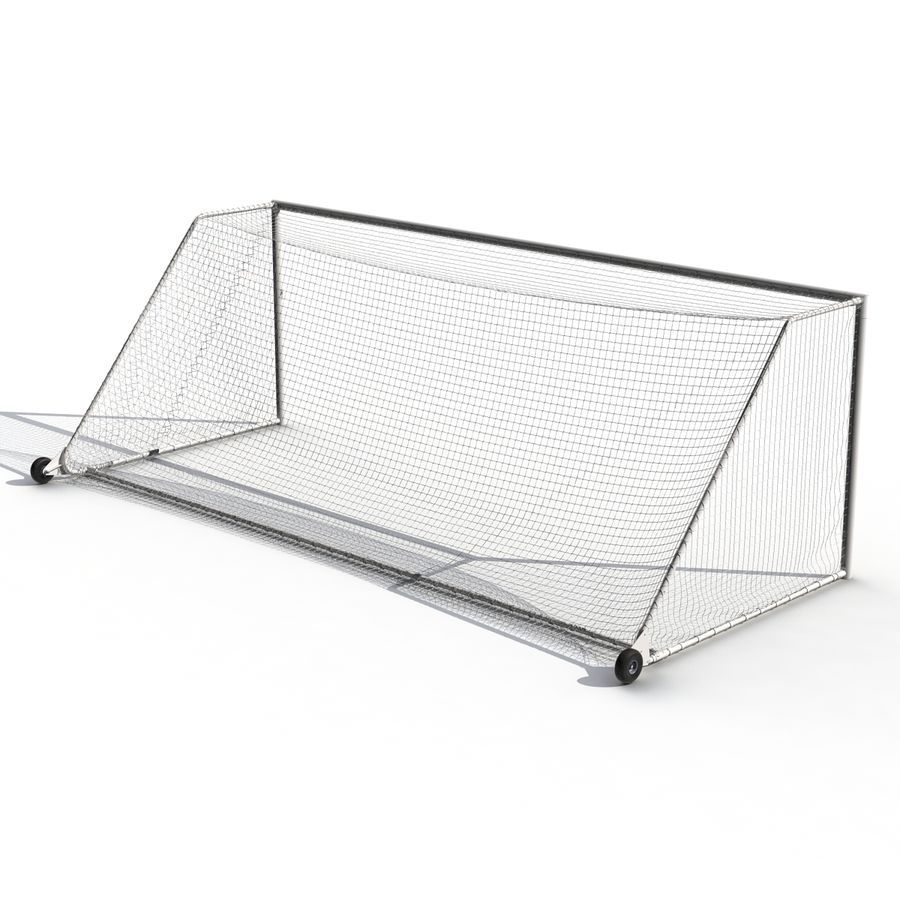 Soccer Goal royalty-free 3d model - Preview no. 8