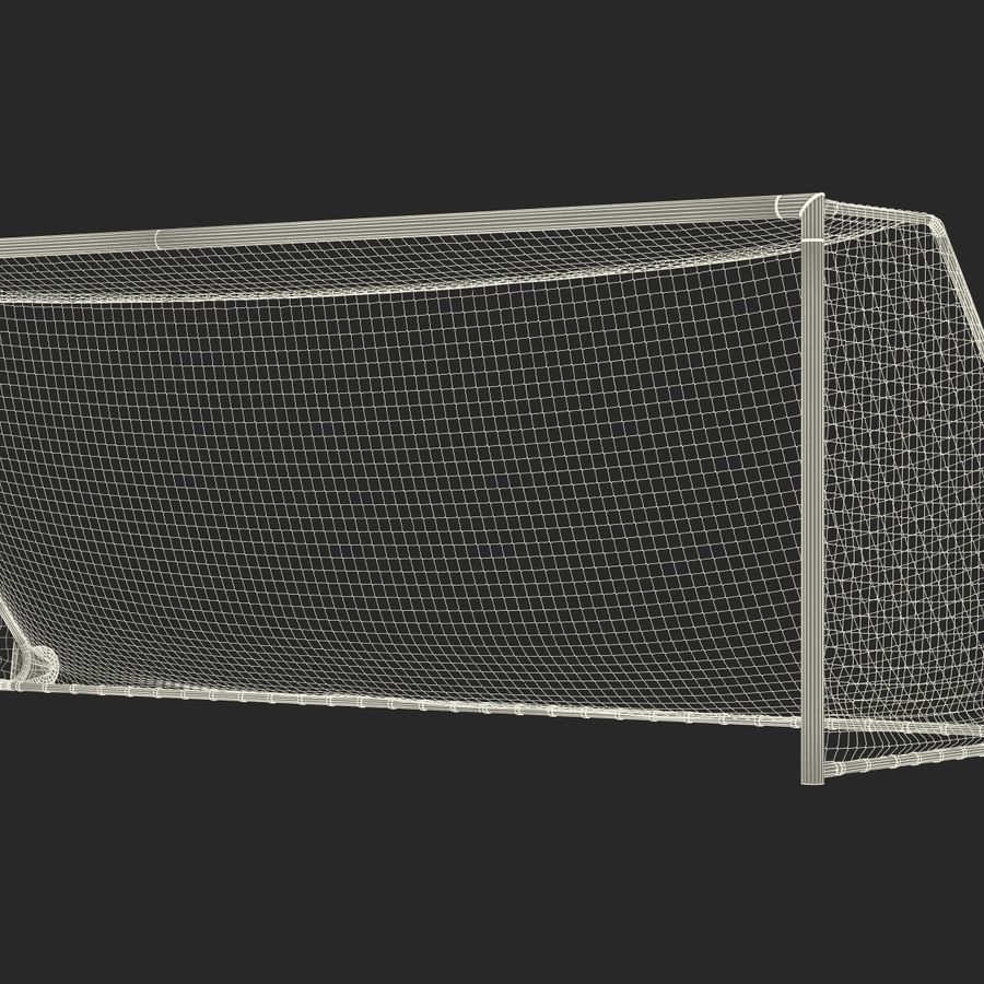 Soccer Goal royalty-free 3d model - Preview no. 28