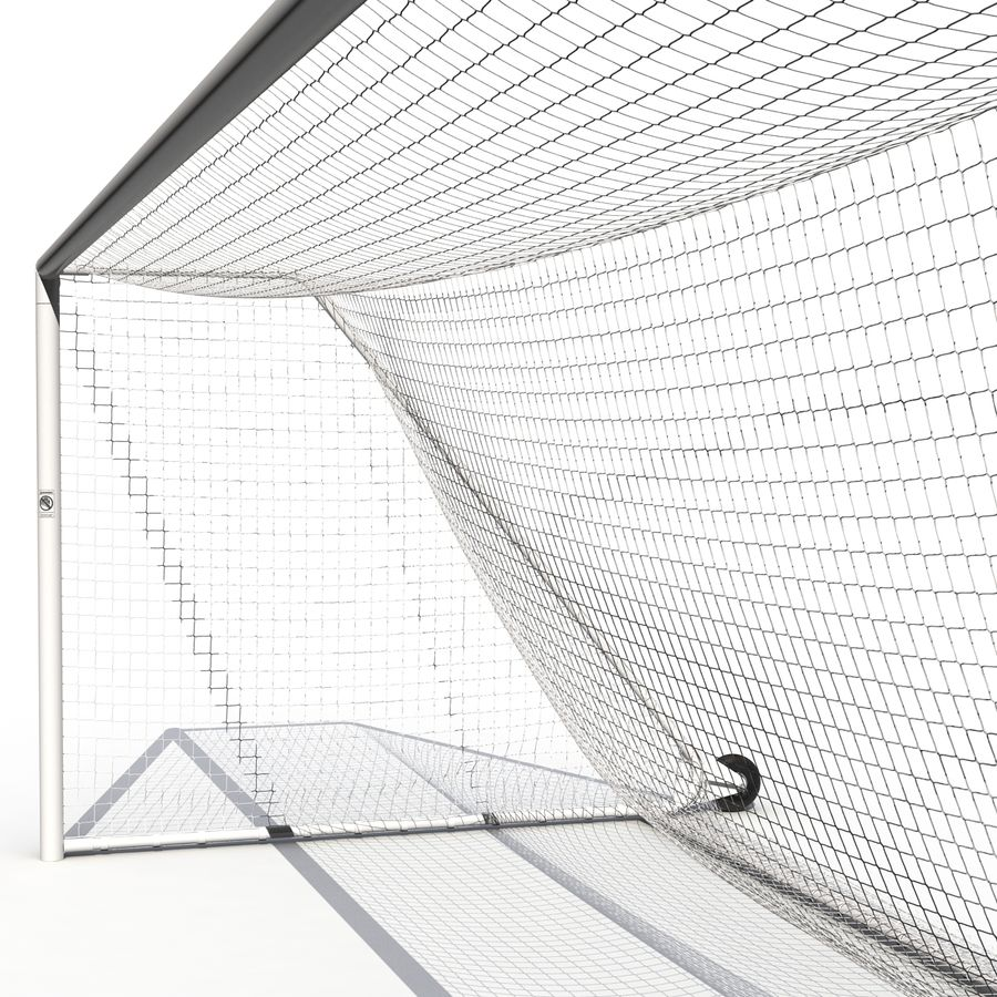 Soccer Goal royalty-free 3d model - Preview no. 15