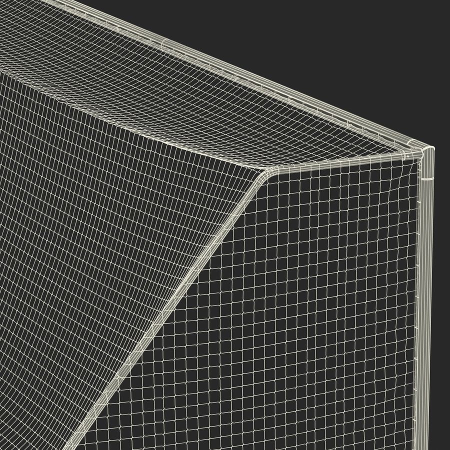 Soccer Goal royalty-free 3d model - Preview no. 31