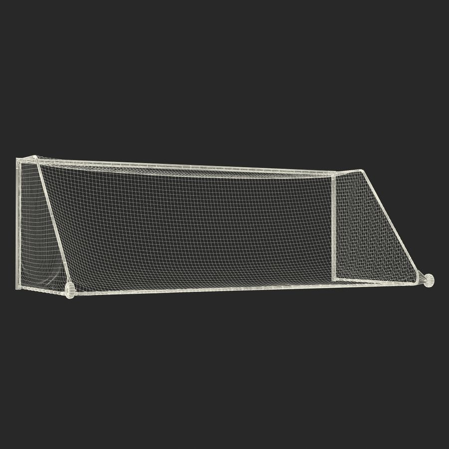 Soccer Goal royalty-free 3d model - Preview no. 27
