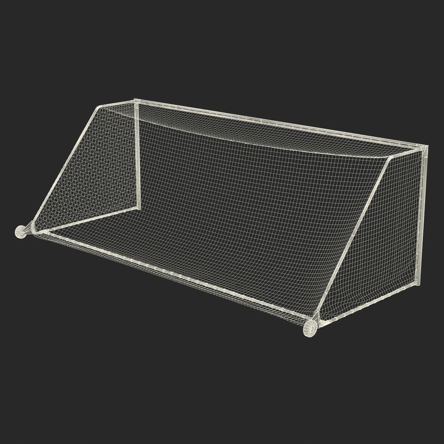 Soccer Goal royalty-free 3d model - Preview no. 26