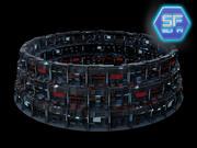Цитадель Sci Fi 3d model