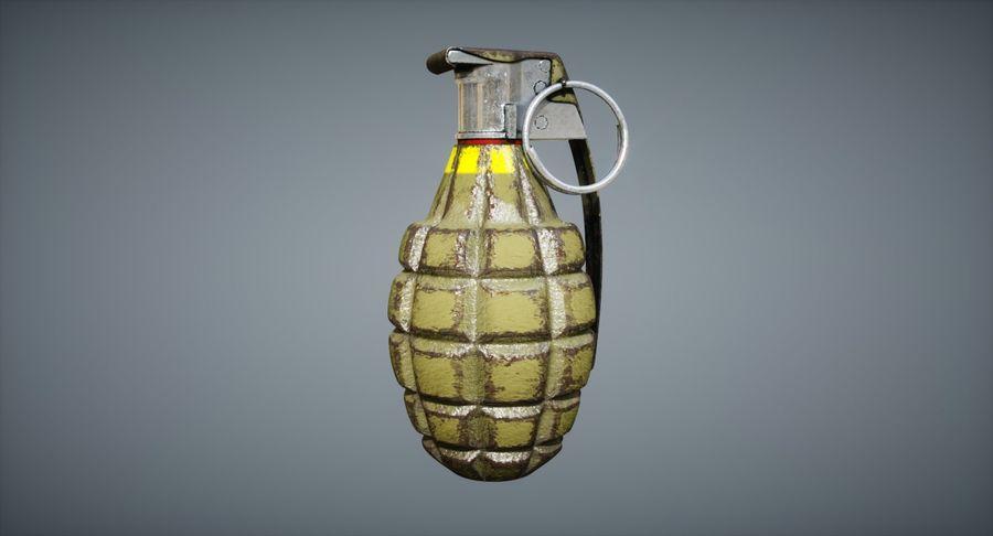 Grenade royalty-free 3d model - Preview no. 11
