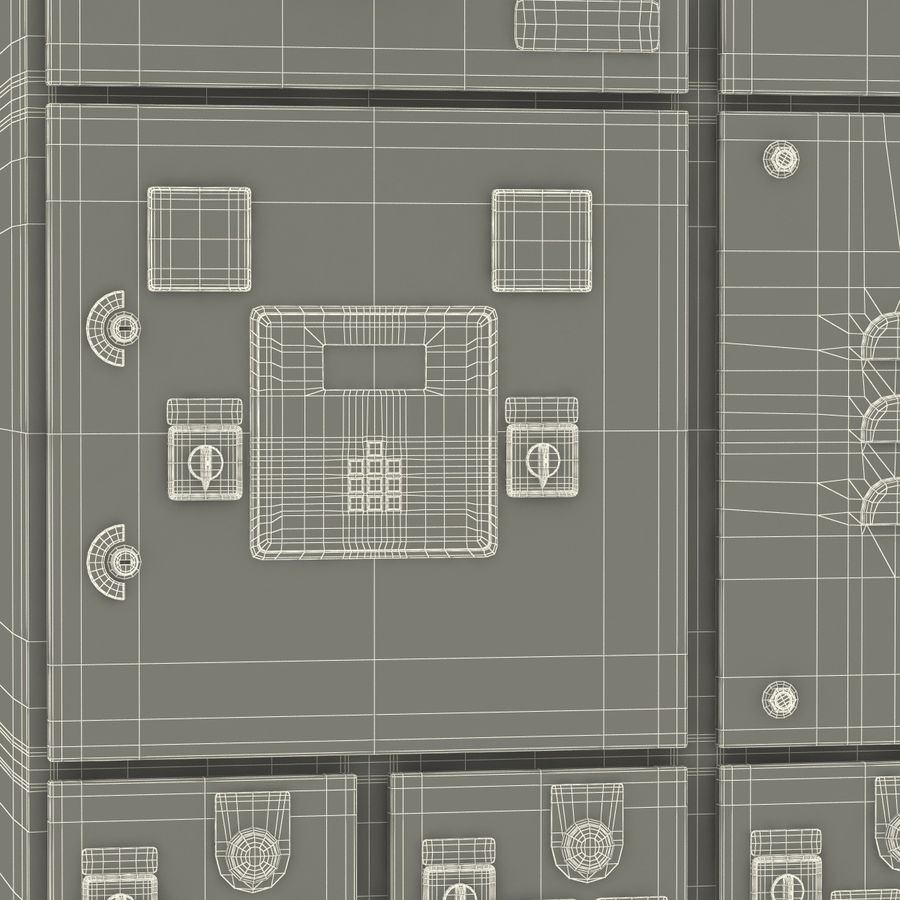 Industrial Electrical Panel 2 3d Model 49 Max Obj Ma C4d 3ds Plan Royalty Free Preview No 29