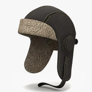 Pilot Hat 3d model