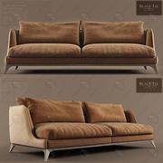Black Tie的Brando沙发 3d model
