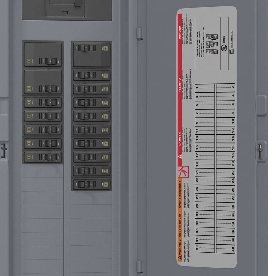 Fuse Box 3d Model 29 Max Obj Ma C4d 3ds Free3d Supplies Royalty Free Preview No 15