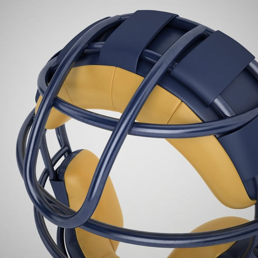 Catchers Face Mask 05 royalty-free 3d model - Preview no. 21