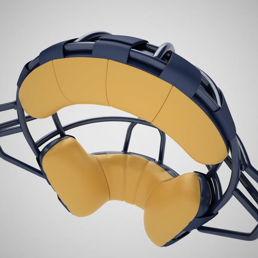 Catchers Face Mask 05 royalty-free 3d model - Preview no. 25