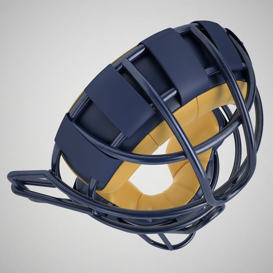 Catchers Face Mask 05 royalty-free 3d model - Preview no. 15
