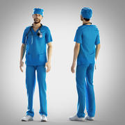 Surgeon outfit - fixed 3d model