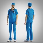 Chirurgoutfit - behoben 3d model