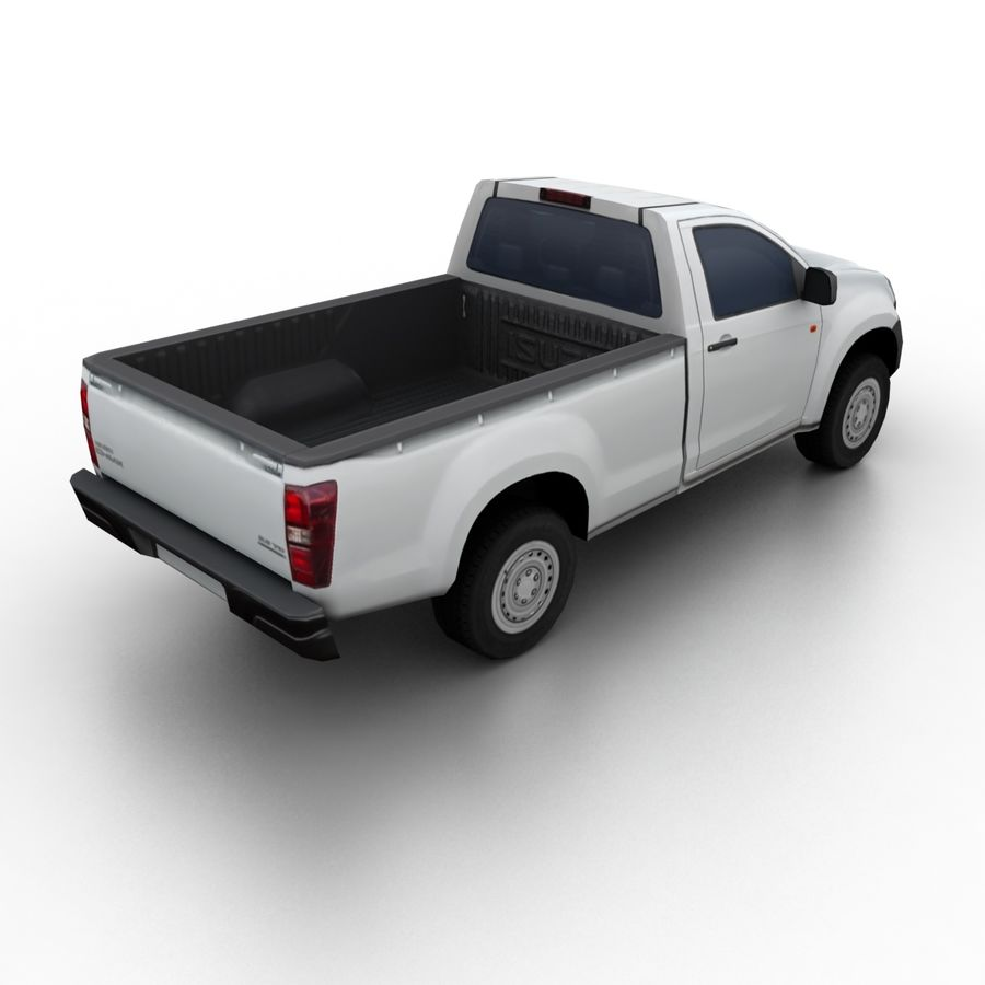 Isuzu D-Max 2013 royalty-free 3d model - Preview no. 2