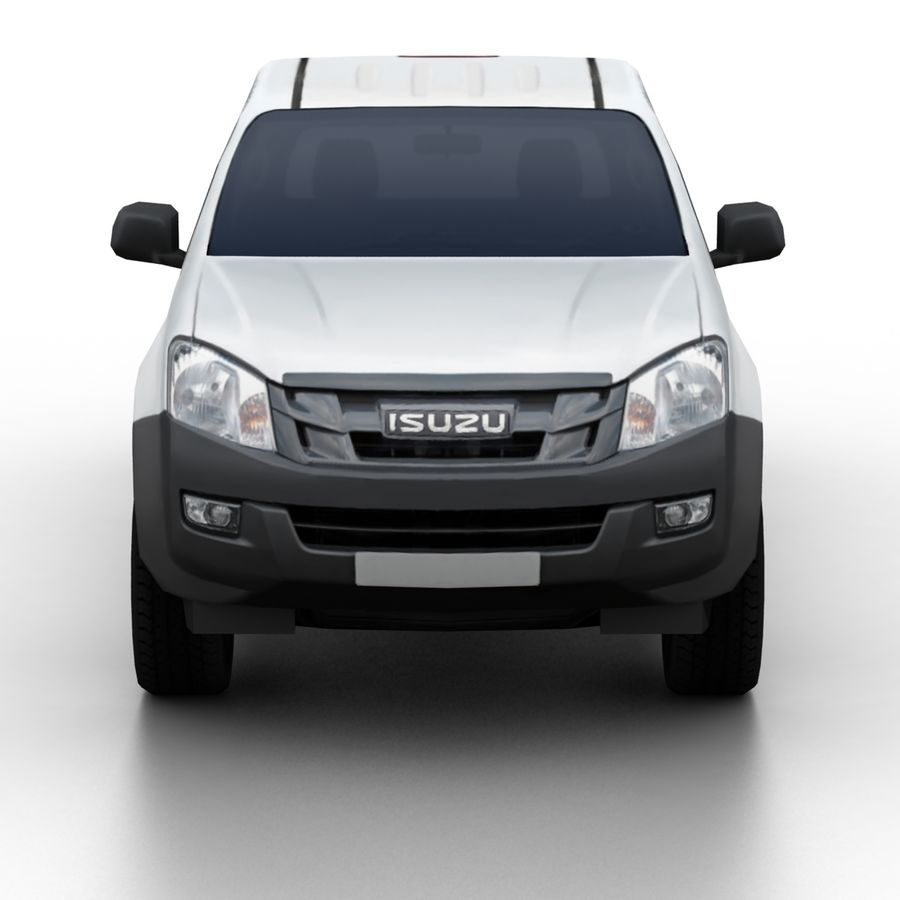 Isuzu D-Max 2013 royalty-free 3d model - Preview no. 4