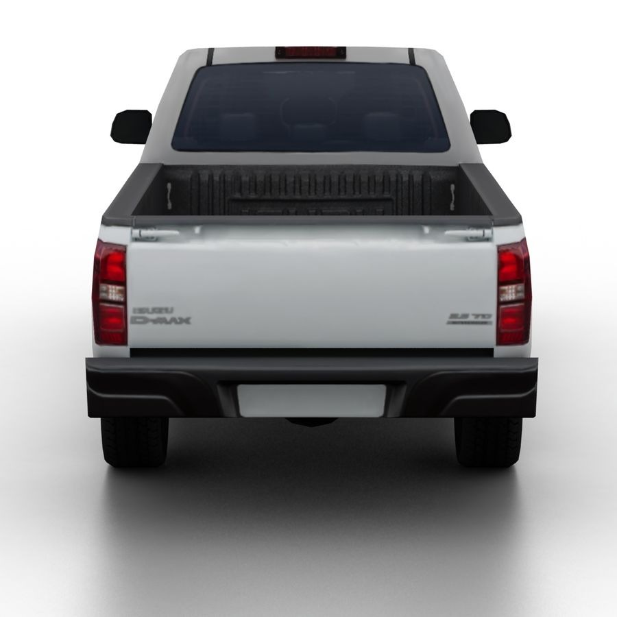 Isuzu D-Max 2013 royalty-free 3d model - Preview no. 5