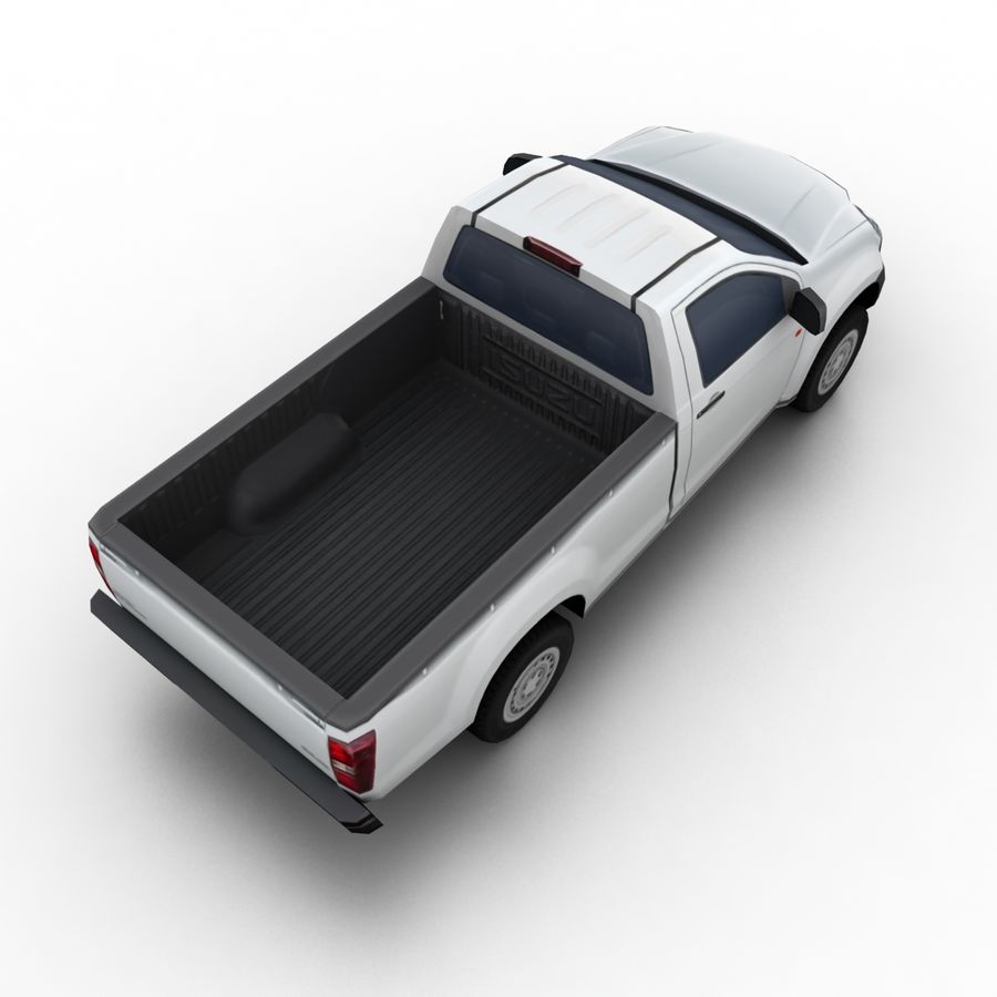 Isuzu D-Max 2013 royalty-free 3d model - Preview no. 6
