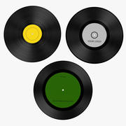 Vinyl 3d model