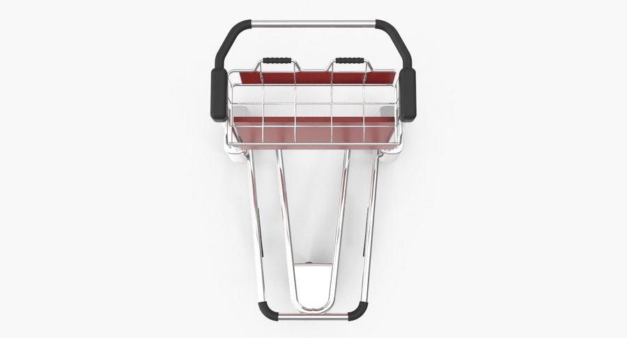 Wózek bagażowy na lotnisko royalty-free 3d model - Preview no. 11