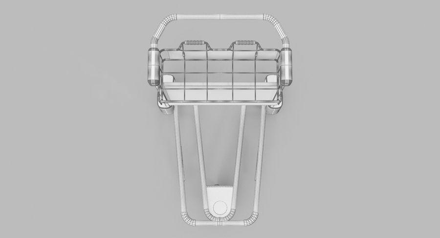 Wózek bagażowy na lotnisko royalty-free 3d model - Preview no. 12