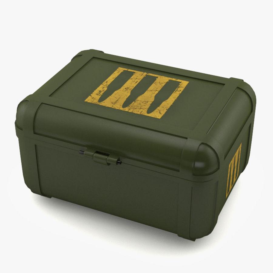 弹药盒 royalty-free 3d model - Preview no. 4