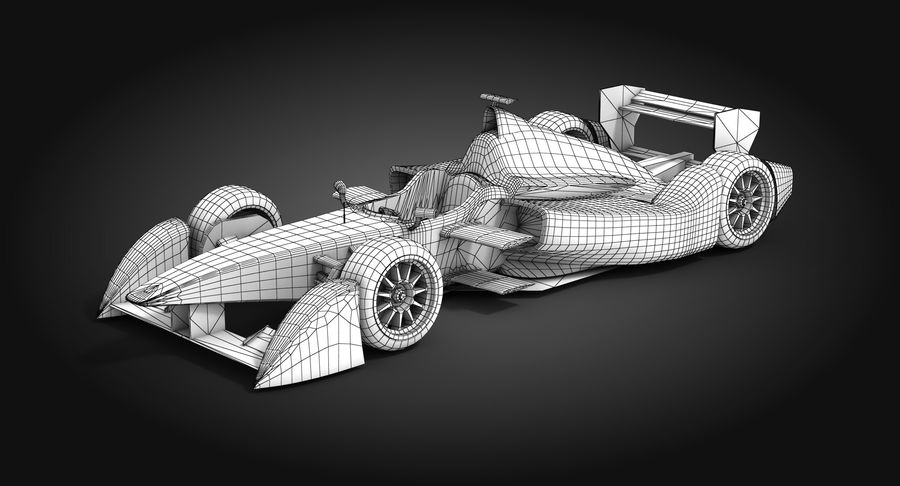 Mahindra Racing Formula E Season 2015 2016 3D Model $39 -  max  obj