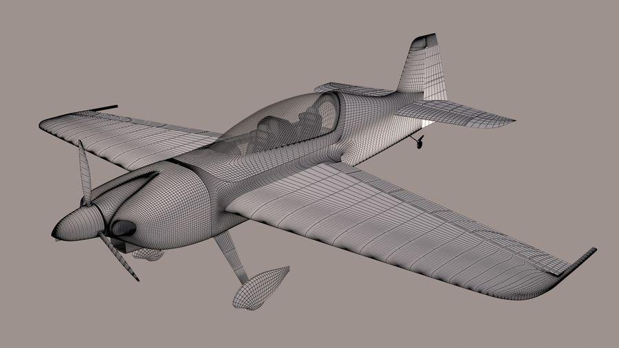 Высший пилотаж Sbach 342 XA-42 royalty-free 3d model - Preview no. 7