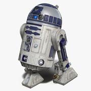 R2 D2 3D 모델 3d model