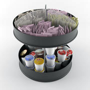 Coffee Condiment Organizer 3d model