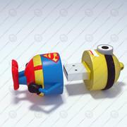 minion usb pendrive 3d model