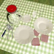 Dishes 3d model