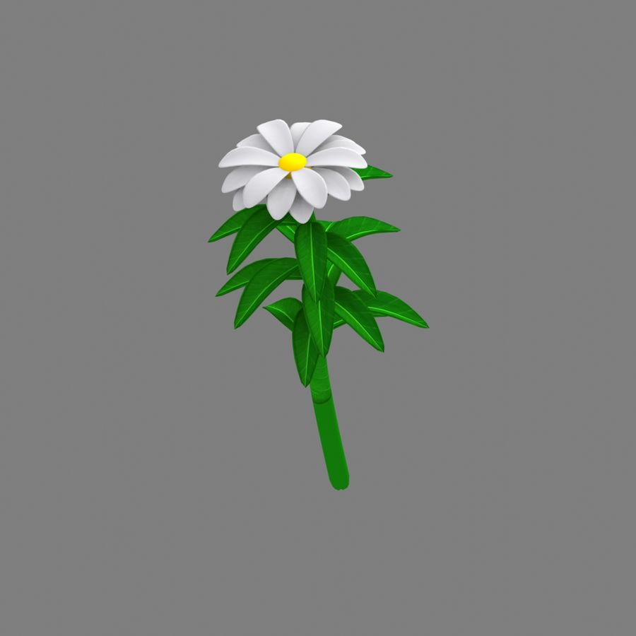 오두막 royalty-free 3d model - Preview no. 3