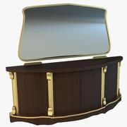 Stare szuflady komody 3d model