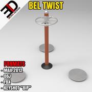 Utomhus BEL TWIST 3d model
