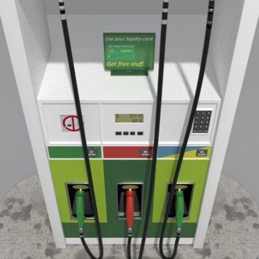 Gas Pump royalty-free 3d model - Preview no. 5