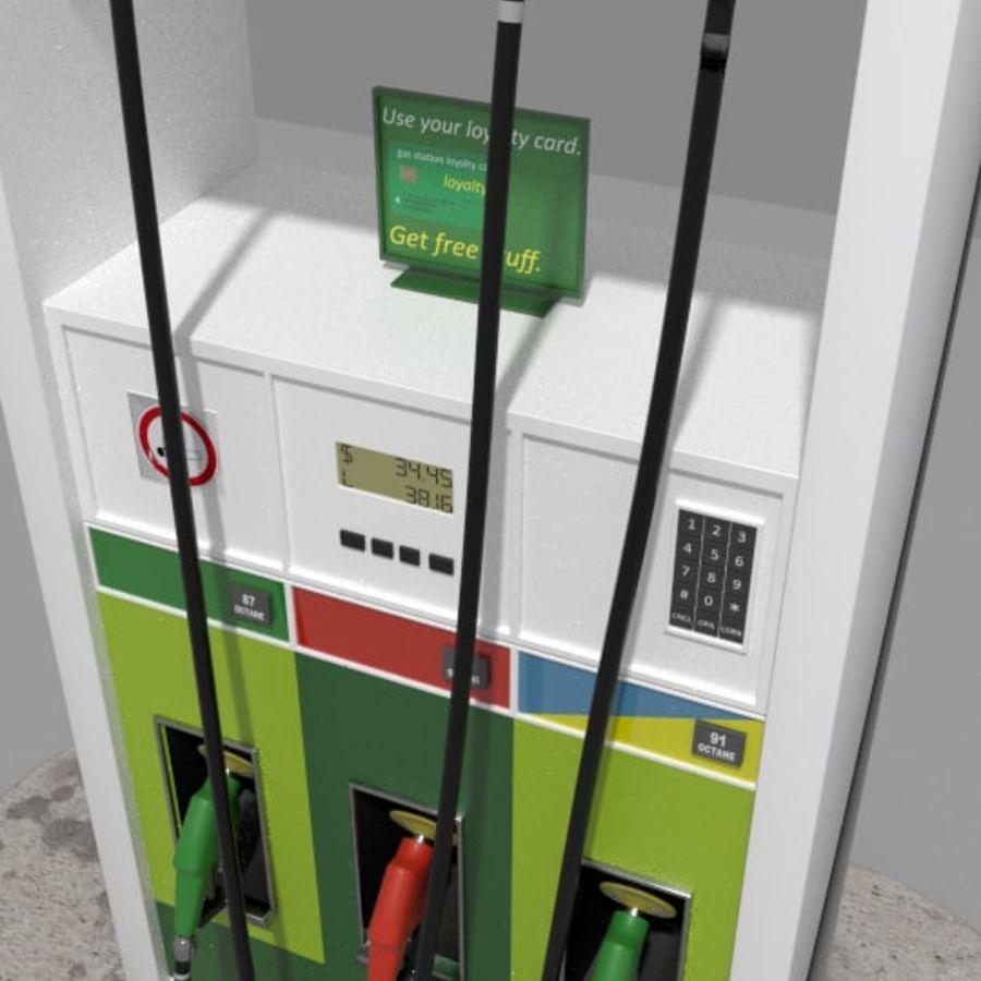 Gas Pump royalty-free 3d model - Preview no. 3