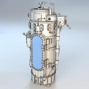 Steampunk chamber mesh 3d model