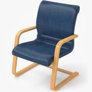 Office chair B 3d model